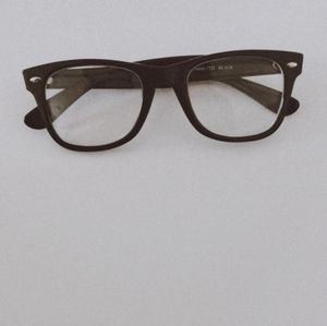 Eyeglasses chunky black Parade Q series